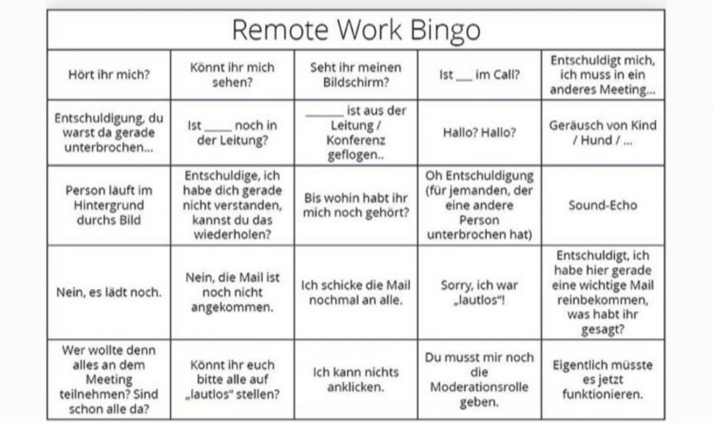 Bullshit Bingo Remote